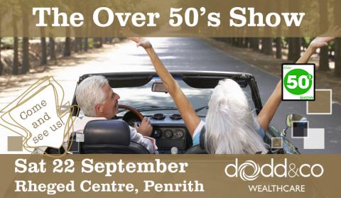 Over 50s Show Website